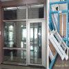 Aluminiumwindows-Türen mit neuestem Entwurf und unterbrochenen Brücken-Merkmalen