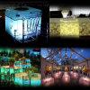 Wedding TableのためのRrechargeable LED Decoration Base
