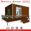Hotel/Villa (MG-001)のための20ft Wooden Cladding Modular Home