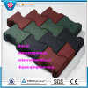 En1177 Outdoor Rubber Flooring, Safety Floor Tile, Playground Rubber Tile