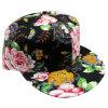 Gorra de béisbol floral de la tela de la manera con el Snapback Sb15101
