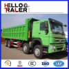 Sinotruk HOWO 덤프 트럭 8X4 판매를 위한 모래 팁 주는 사람 트럭