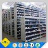 Chinesefactory modificó el almacén de acero de varias filas del suelo para requisitos particulares de entresuelo