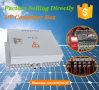 Caja de conexiones serie de paneles solares con Anti-trueno Proteger entrada 12 cuerdas