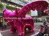 Рекламировать милую розовую раздувную модель свиньи для сбывания