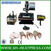 Máquina combinada caliente de la prensa del calor In1 de la venta 8