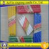 Vela multicolora de la cera de las velas/color/vela llana del color