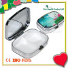 2 Fälle Decorative Mini Metal Pill Box mit Mirror (PH1190-6)