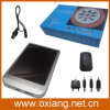 1500mAh Portable Mobile Phone Solar Charger con 0.4W Panel