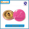 Кнопка кнопки металла цвета пинка хорошего качества