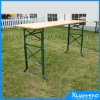 Ajuster Wooden Beer Table au jardin