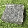 G654暗い灰色のLanscapingの花こう岩の立方体の敷石
