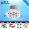 7W 110-240V van uitstekende kwaliteit Cool White LED Down Light