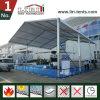 Barraca de alumínio do hangar dos aviões com o telhado da tela do PVC