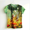 Manier Afgedrukte T-shirt voor Mensen (M283)