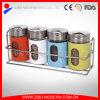 Conjunto de abanadores de garrafas de sal e pimenta de aço inoxidável