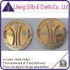 Gold y Silver de encargo Two-Tone Petal Cut Military Coin