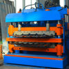 China CE Certified Wall and Roof Double Layer Roll Forming Machine, Glazed Tile Roll Forming Machine