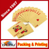 Sandiasummer 24k Gold Foil Plated Playing Cards 100 Dollar Full Poker Deck Gift