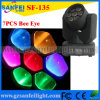 Фокусировка коротких волн Light СИД DJ Stage 7X10W White Bee Eye