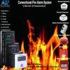 Zone convenzionali della soluzione 32 del sistema di segnalatore d'incendio di incendio dell'hotel del Kenia