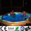 Hydro Ronde Whirlpool Bathtub Outdoor SPA Hete Ton met de Functie van de Massage