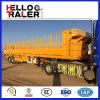 De Chinese Verkoop van de Aanhangwagen van de Zijwand van 2 Assen Flatbed Semi
