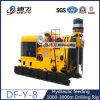 Df Y 8 1000-3000m 기계적인 전송 스핀들 교체 유압 공급 회전하는 드릴링 기계 가격