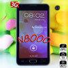 5.0  teléfono elegante de la pantalla TV GPS 3G de la capacitancia androide N8000 estrella 4.0 MTK6575