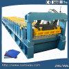 Het golfdie Blad walst het Vormen van Machine koud in China wordt gemaakt