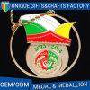 Alto medaglione di promozioni del regalo della medaglia di oro