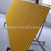 Reja moldeada fibra de vidrio con las paletas del hierro