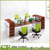 Klassische Auslegung-hölzerner Büro 4 Seater Arbeitsplatz