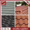 Azulejos de material para techos de acero revestidos de piedra del metal