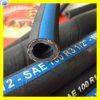 Boyau industriel R6 de boyau en caoutchouc de pétrole hydraulique de boyau de pétrole de fibre