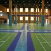 Le plancher d'intérieur/badminton de PVC folâtre le plancher