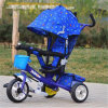 Metall Frame Baby Tricycle mit Canopy und Safety Belt