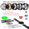Multicolor elegante 3G del teléfono del reloj con carga inalámbrica (N3)