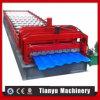 高品質の機械を形作る鋼鉄タイルの金属の屋根ロール