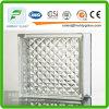 bloco de vidro da estrutura de 190*190*80mm/tijolo de vidro
