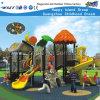 Das crianças plásticas da corrediça do campo de jogos do parque de diversões área de jogo ao ar livre (HD-FY01901)