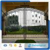 Puerta hermosa del hierro labrado