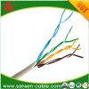 Cable RoHS/Cm/Cmr/PE/LSZH de la alta calidad UTP Cat5e