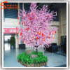 Árvore artificial plástica da flor de cereja do fornecedor de China