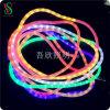 Lumière flexible populaire de corde de nuit d'arc-en-ciel pour la décoration de Noël