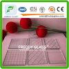 Glace ignifuge en verre roulée de câble traditionnelle en verre modelé en verre clairement de câblage de Glass/6mm