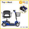 """Potência incapacitada 4 rodas que dobra o """"trotinette"""" elétrico da mobilidade para adultos"""