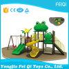 Série-Grenouille animale du jouet du gosse extérieur de cour de jeu d'enfants de plastique neufs (FQ-YQ-00501)