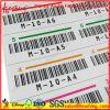 Impressões personalizadas coloridas Número de série Etiquetas Barcode