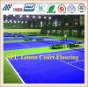 El mejor Spu de la calidad se divierte el suelo para el campo de tenis